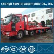 Caminhão 15ton do transporte da máquina do equipamento da cama lisa
