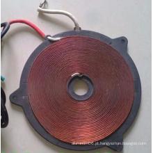 Design do cliente Hot Sale Copper Coil Winding Factory, dissipador de calor