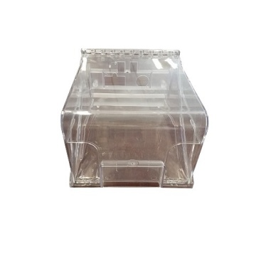 PC de moulage par injection plastique transparent OEM