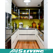 Forma de la galería con los muebles del gabinete de cocina del diseño de la laca (AIS-K170)