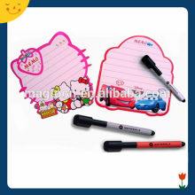 promotional cute HelloKitty style Magnetic Writing Board