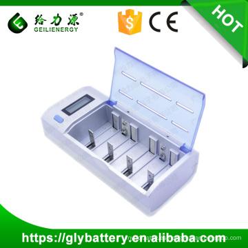GLE-906 9V AAA AA CD NICD NIMH Cargador de batería con enchufe