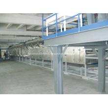 Energy saving conveyor belt dryer