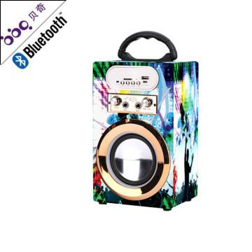 Altavoz de audio portátil del bluetooth del karaoke de la caja de sonido de alta calidad
