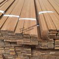 Moldura de madera de teca reconstituida moldura de madera triangular