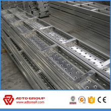 Durabilidad de piedra de acero galvanizado Catwalk Q195 ~ Q235 para áfrica