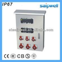 2013 IP67 Stainless Steel Industrial Power Socket Box