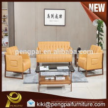 Home furniture best sale sectional sofa PU sofa design