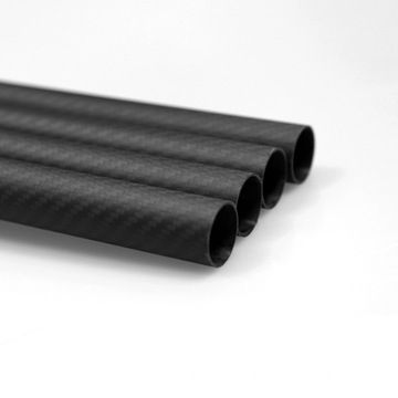 20x18x1000mm 3K Carbon Fiber Fabric Tube Quadcopter armen