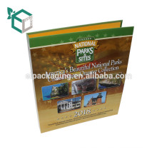 высокое качество бумажной доски печатание CMYK глянцевая ламинация настройки дизайна скоросшиватель бумажного архива для использования в офисе