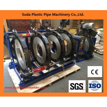 Máquina de soldadura da extremidade da tubulação do HDPE da máquina da fusão da extremidade 315-630mm