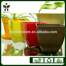 garden eco-friendly square pots wholesale