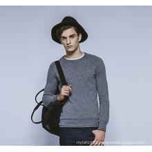 100%Cashmere Winter Round Neck Knit Men Sweater
