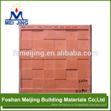 формы для бетонной тротуарной плитки для мозаики из красный пейзаж