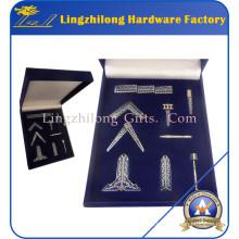 Miniatura maçônica conjunto de presentes de ferramentas de trabalho