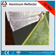 anodized aluminum mirror 86% reflection rate