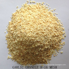 Granule d'ail séchée Bonne qualité de l'usine