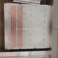 Aluminum Spatula Heat Sink Design with Copper