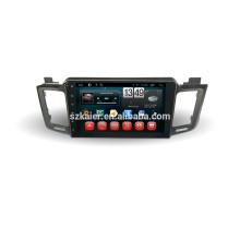 DVD de coche para pantalla táctil completa con sistema Android 4.4 para RAV4 + doble núcleo +10.1 pulgadas + OEM