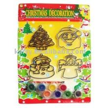 Weihnachtsdekoration Suncatcher Set, Spielzeug zeichnen