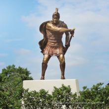 hochwertige Bronze Statue spartanischen Krieger