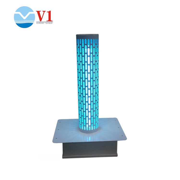 HVAC UV light air purifier