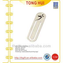Custom star logo metal bookmarks /promotional bookmarks for books