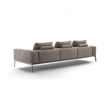 Flexform Lifesteel Sectional Sofa 3 Seater version