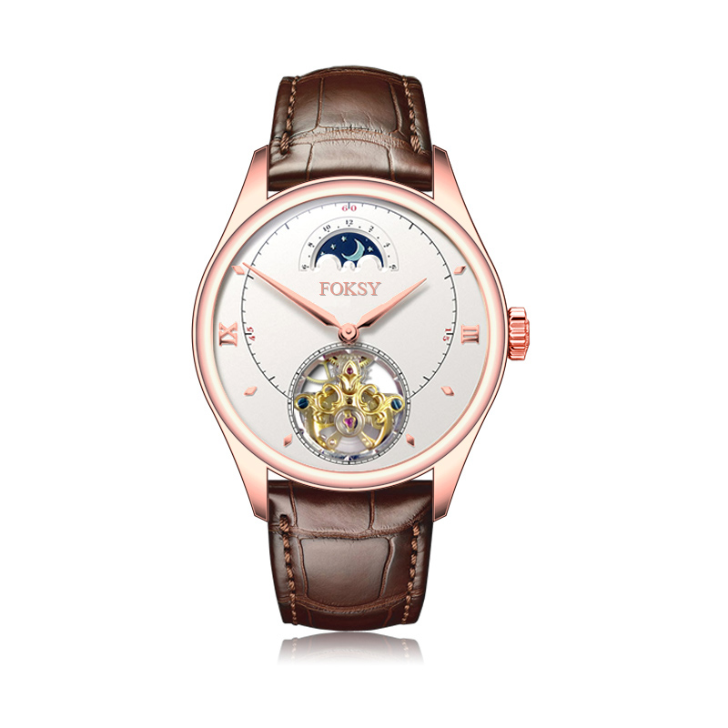 rose gold automatic watch men