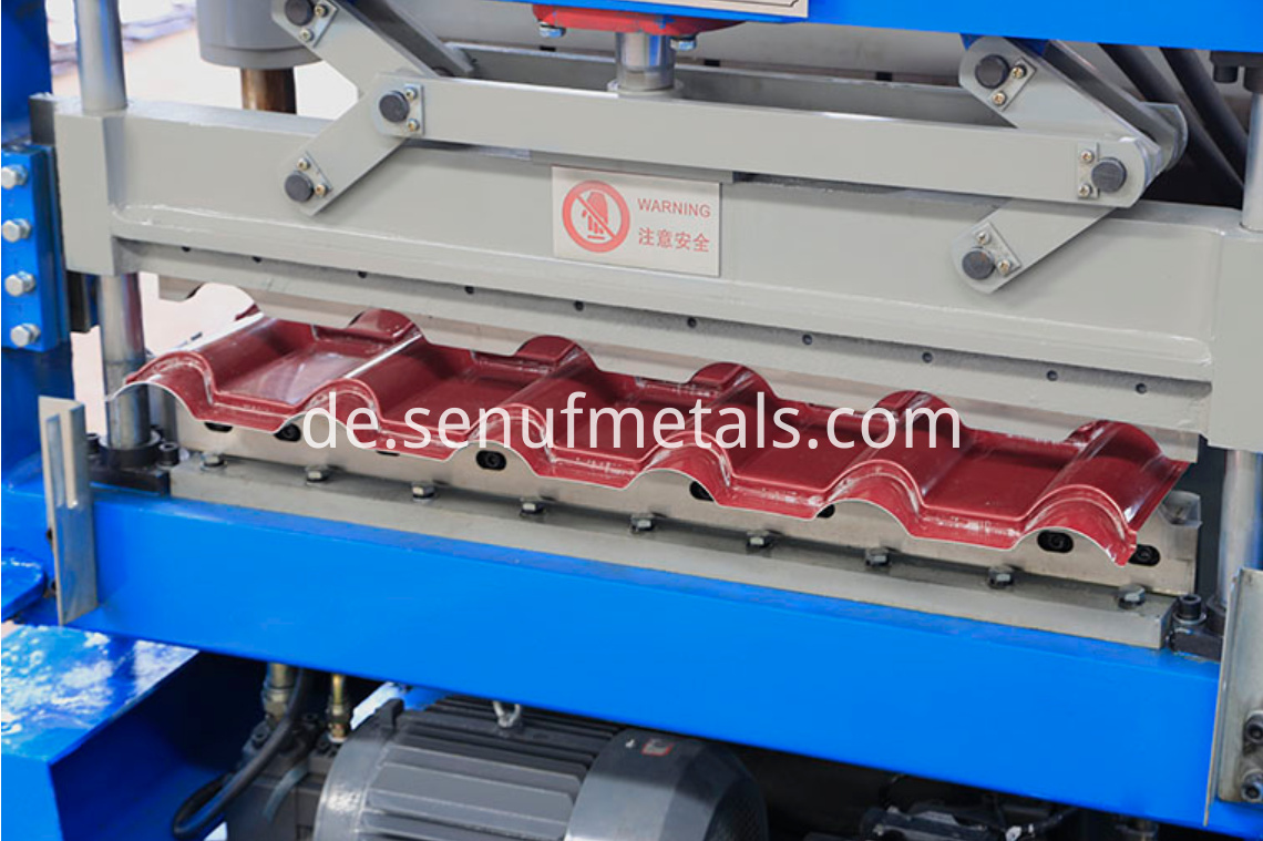 glazed tile forming machine (8)