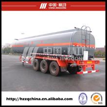 Chimiquier remorque, semi-remorque-citerne liquide (HZZ9403GHY) pour la livraison d'azote liquide