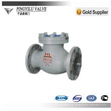 WCB ou válvula de verificação do balanço do aço de carbono usada no vário fornecedor médio da porcelana