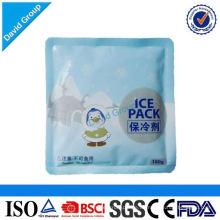 Alibaba zertifiziert Top 1 Lieferant Heißer Verkauf Gel Ice Pack