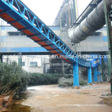 Cement Material Handling Pipe Belt Conveyor/Tubular Belt Conveyor