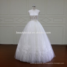 XF16032 diseños de la princesa de vestido de novia vestido de novia vestido de boda de longitud del piso 2017