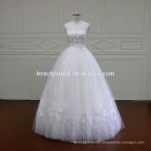 XF16032 princess designs of ball gown wedding dress floor length wedding gown 2017