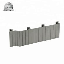 profilé de platelage en aluminium lockdry plus frais au toucher