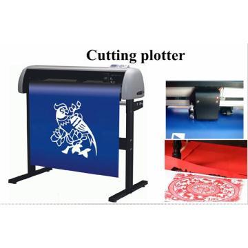 Paper cutting plotter machine
