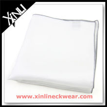 Colored Rolled Hem Ladies Plain Cotton Handkerchiefs
