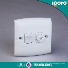 Igoto E135-F British Standard 1gang Fan Speed Controller Wall Switch/Waterproof Wall Switch/Switch