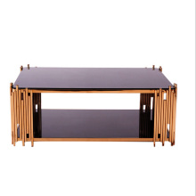 Hot Sell coffee table with stainless steel material