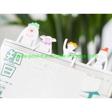 5PCS Set Die-out Cut Cute Multi-Function Paper Bookmark