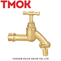 brass color small flow used in commercial kitchen bibcock