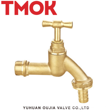 brass color surface polishing small flow used in commercial kitchen bibcock