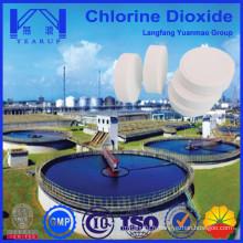Désinfectant pour l'eau recyclé Produits chimiques à base de dioxyde de chlore