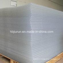 Feuille en plastique transparente superbe de PVC