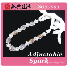 fashion bling crystal latest design beads necklace