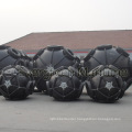 Pneumatic Fender with Chains Tires Cage P50 for Shipyard Use From China Manufacturer Supplier