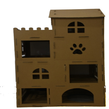 Cardboard play and House of cat