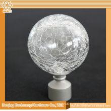 8/10/13/16/19/22/25/28mm Crystal Glass Decorative Window Ball Curtain Finials